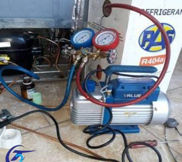 شارژ گاز یخچال فریزر
